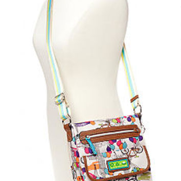 Lily Bloom Tablet Case Crossbody Bag - Belk.com