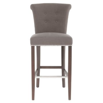 Luxe Barstool Sepia Fabric