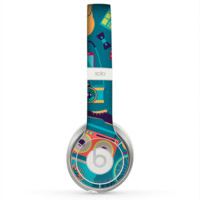 The Retro Colorful Hipster Pattern V2 Skin for the Beats by Dre Solo 2 Headphones