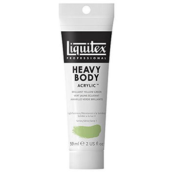Liquitex Professional Heavy Body Acrylic Paint 2-oz tube, Brilliant Yellow Green