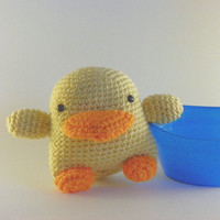 Crochet Amigurumi Yellow Duck