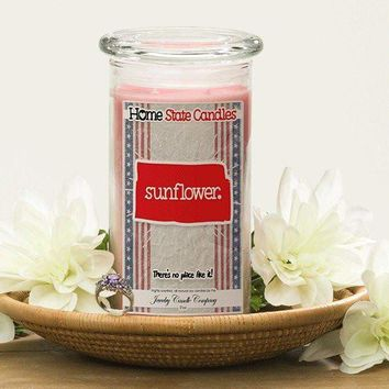 Sunflower | Home State Demonym Candle®