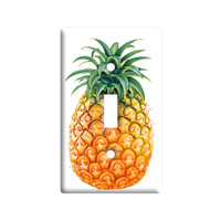 Pineapple Light Switch Plate Cover