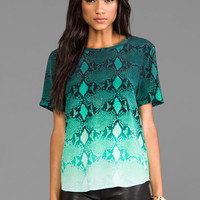 Equipment Riley Fading Blouse in Storm from REVOLVEclothing.com