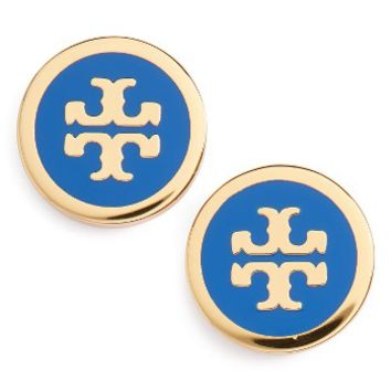 Tory Burch Logo Stud Earrings | Nordstrom