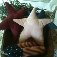 Made to Order Patriotic Primitive Americana Bowl Fillers Ornies Red, White, Blue Firecrackers OFG HAFAIR AB4B promooasis