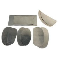 10 Pcs/set Stainless Steel Graver Clay Pottery Sculpture Tool Crafts Engraving Carving Tools