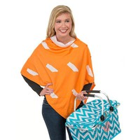 Game Day 3-in-1 Wrap in Tennessee Orange and White by Top It Off - FINAL SALE