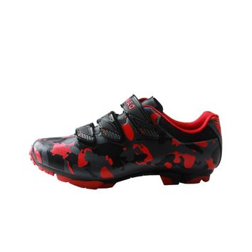TIEBAO M1719 2017 New Arrival MTB Cycling Shoes Outdoor Mountain Bike Shoes Women Men Strap Bicycle Shoes SPD Cleat MTB Shoes