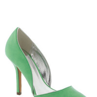Lime and Again Heel | Mod Retro Vintage Heels | ModCloth.com