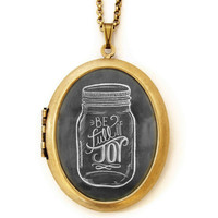 Be Full of Joy - Locket