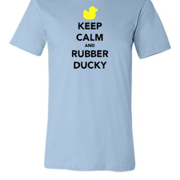 KEEP CALM AND RUBBER DUCKY