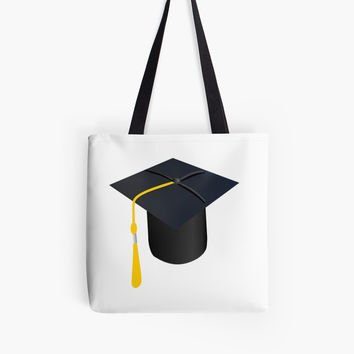 'Graduation Cap' Tote Bag by Dizzydot
