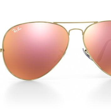 Customize & Personalize Your Ray-Ban RB3025 Aviator Large Metal Sunglasses | Ray-Ban® USA