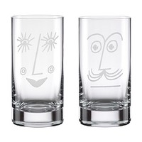 kate spade new york Two of a Kind Bar Belles Highball Glasses, Set of 2