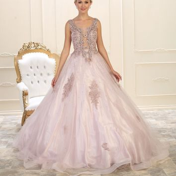 Quinceanera Sweet 16 Dress Long Ball Gown