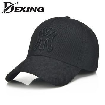 solid unisex black baseball cap men snapback hat  women cap flexfit fitted hat Closed  Male full cap  Gorras Bones trucker hat