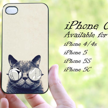 grumpy cat design iphone case for iphone 4 case, iphone 4s case, iphone 5 case, iphone 5s case, iphone 5c case