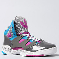 adidas The Good Luck Charm Sneaker in Vivid Pink Iron and White : Karmaloop.com - Global Concrete Culture