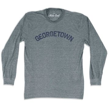 Georgetown City Vintage Long Sleeve T-Shirt