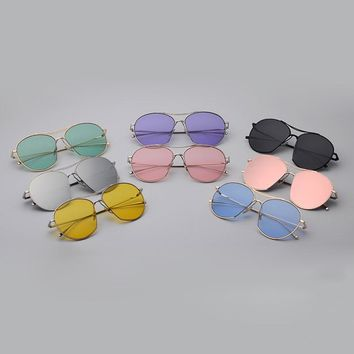 OVAL TWIN GLASSES (7 colors)