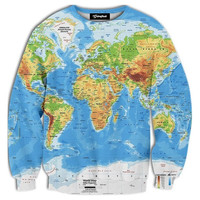 World Map Crewneck