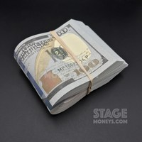 $10,000 Full Print New Style Fat Band