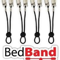 Bed Band Not Made in China. 100% USA Worker Assembled. Lifetime Warranty. Bed Sheet Holder, Gripper, Suspender and Strap. Smooth any Sheets on any Bed. Sleep Better. Patented.