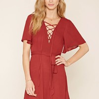 Contemporary Lace-Up Dress