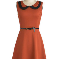 The Time Has Kumquat Dress | Mod Retro Vintage Dresses | ModCloth.com