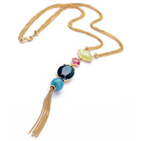 Starling Long Tassel Necklace