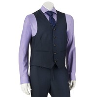 Savile Row Modern-Fit Navy Suit Vest