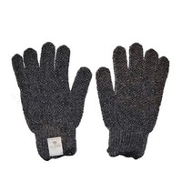 Earth Therapeutics Exfoliating Gloves, Charcoal - 1 pair
