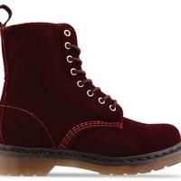 Dr. Martens Page in Cherry Red Rouge at Solestruck.com