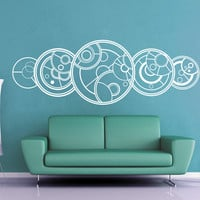 You Only Regenerate 13 Times - Gallifreyan - Doctor Who Wall Decal