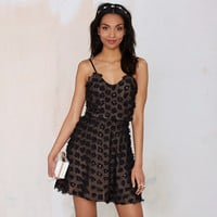 Black A-Line Strappy Sequined Backless Dress