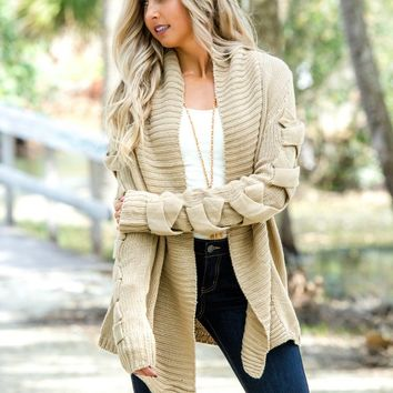 Take Your Time Tan Cardigan Shop Simply Me Boutique Shop SMB – Simply Me Boutique
