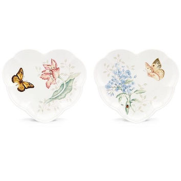 Lenox® Butterfly Meadow™ 2-Piece Party Plate Set