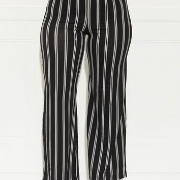 Stripes For Life Pants Black