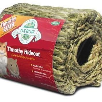 Oxbow Timothy Hay CLUB Small Pet Hideout