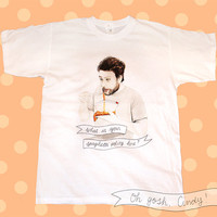 Charlie Kelly t-shirt watercolor illustration It's Always Sunny in Philadelphia Charlie Day