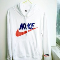 """NIKE"" Fashion Print Hoodie Top Sweater Sweatshirt For Women Men"