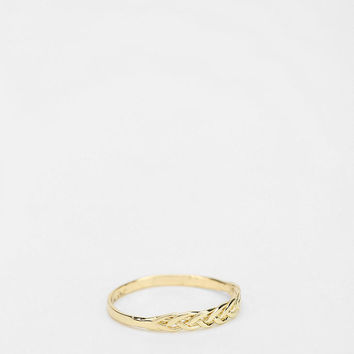 Urban Outfitters - Braided Midi Ring