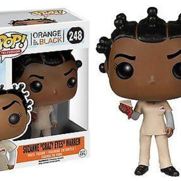 "Funko Pop TV: OITNB - Suzanne ""Crazy Eyes"" Warren Exclusive Vinyl Figure"