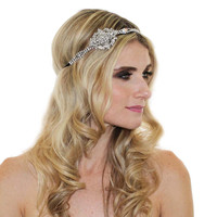 VINTAGE MEDALLION HEADPIECE