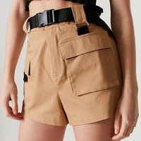 I.AM.GIA Harper Belted Cargo Short | Urban Outfitters