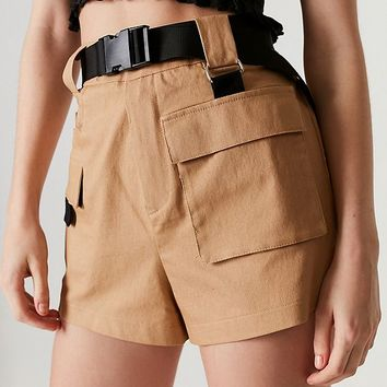 I.AM.GIA Harper Belted Cargo Short   Urban Outfitters