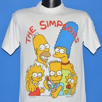 90s The Simpsons Family Portrait t-shirt Small
