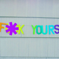 Go F*ck Yourself Handmade Banner