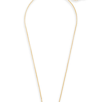 Leanor Gold Bar Pendant Necklace in Drusy | Kendra Scott